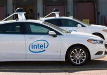 Guida autonoma: FCA insieme a Intel e Bmw con Mobileye