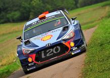 WRC17 Germania. 1a Tappa. L'attacco di Tanak (Ford M-Sport)