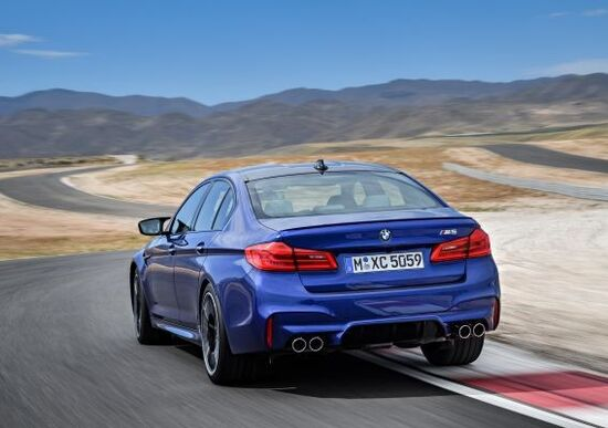 La nuova BMW M5 2018