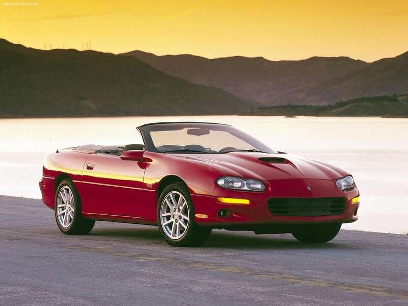 listino chevrolet camaro cabrio 1998 02 usate. Black Bedroom Furniture Sets. Home Design Ideas