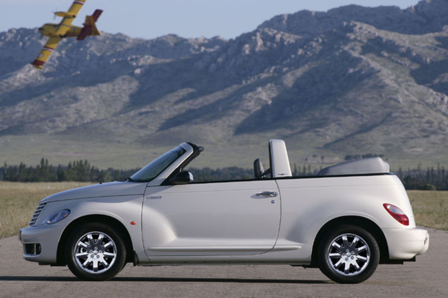 listino chrysler pt cruiser cabrio 2004 08 usate. Black Bedroom Furniture Sets. Home Design Ideas