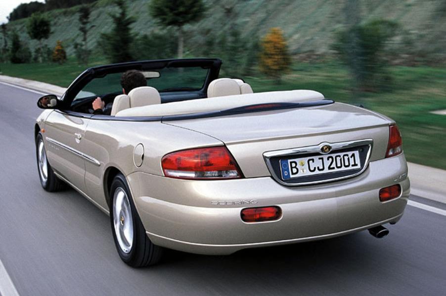chrysler sebring 2 7 v6 24v cat lx cabrio autost 04 2001. Black Bedroom Furniture Sets. Home Design Ideas