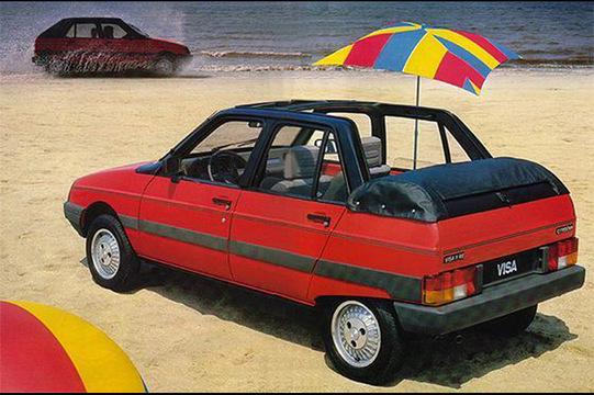 Citroen Visa Cabrio (1984-85)
