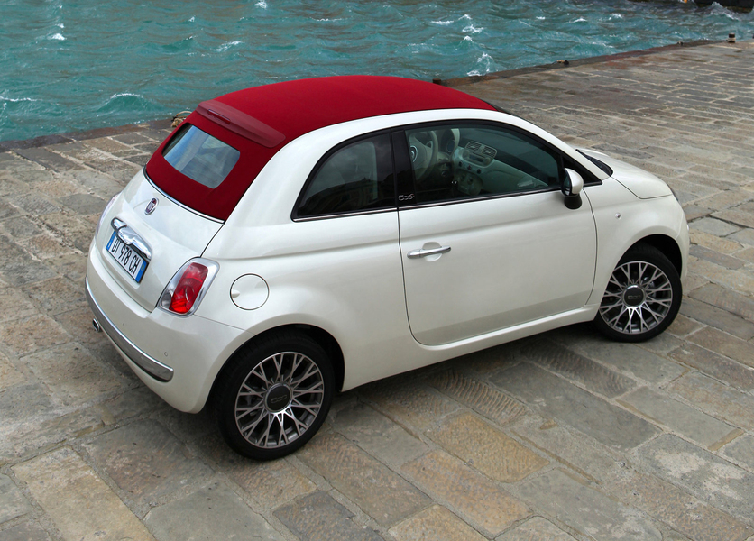 listino fiat 500 cabrio 2009 usate. Black Bedroom Furniture Sets. Home Design Ideas