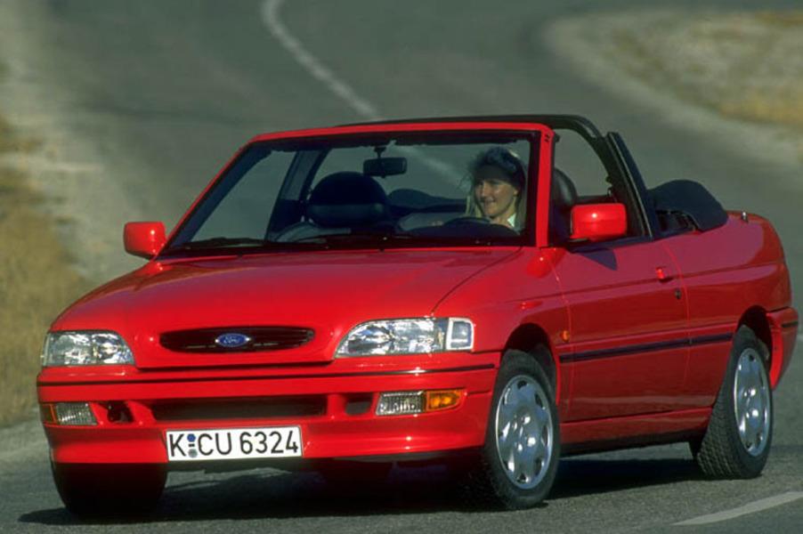 Bedienungungsanleitung cabrio escort ford