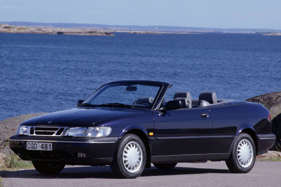 listino saab 900 cabrio 1994 98 usate. Black Bedroom Furniture Sets. Home Design Ideas