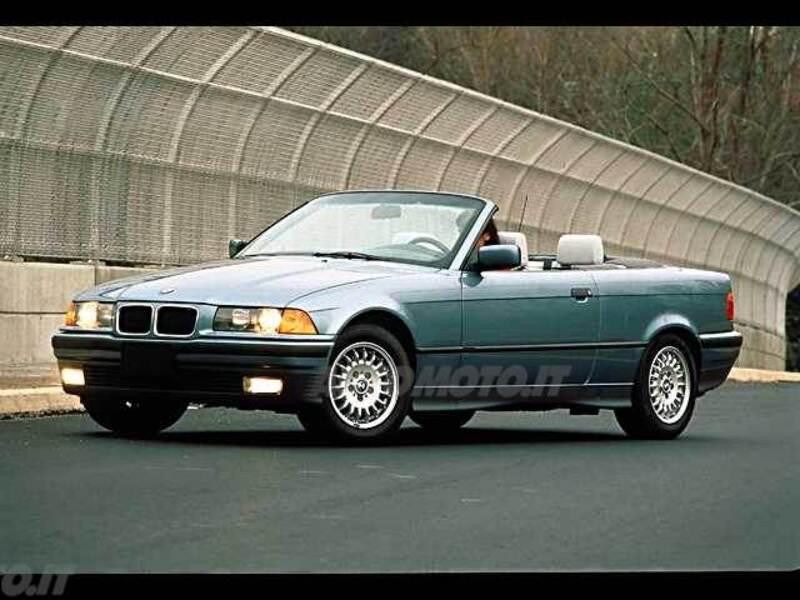 bmw serie 3 cabrio 318i cat let 02 1996 05 1998 prezzo e scheda tecnica. Black Bedroom Furniture Sets. Home Design Ideas