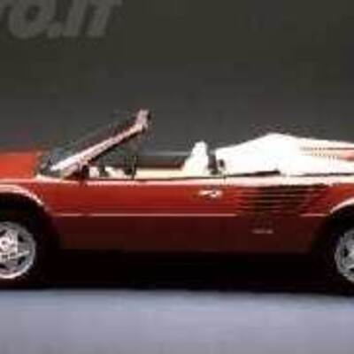 ferrari mondial spider 3 4 t cabriolet 03 1989 03 1990 prezzo e scheda tecnica. Black Bedroom Furniture Sets. Home Design Ideas