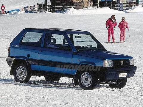 Fiat panda 1100 i e cat 4x4 trekking 04 1992 02 1995 for Panda 4x4 sisley scheda tecnica