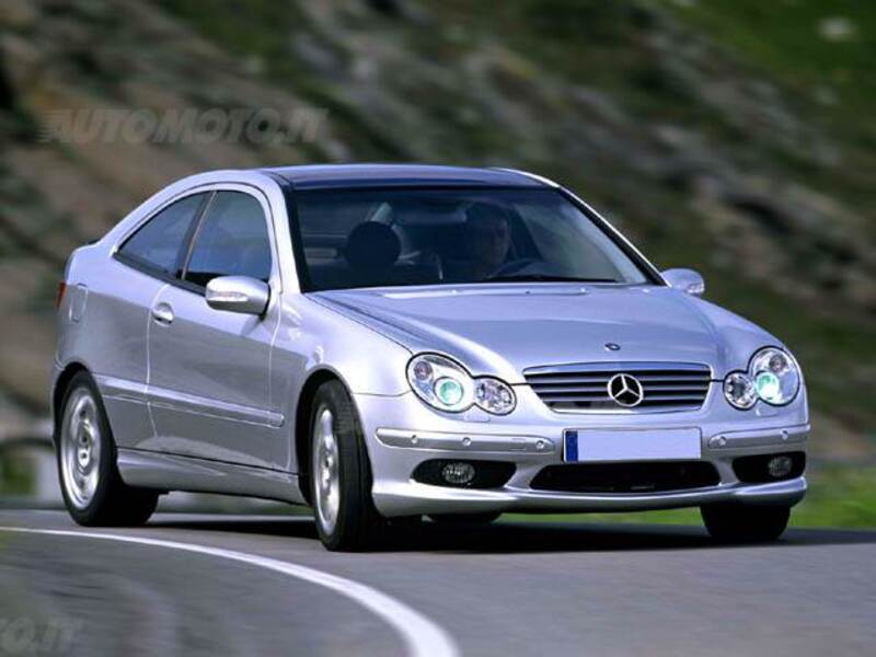 Mercedes benz classe c coup 30 cdi cat sportcoup amg 02 2004 04 2005 prezzo e scheda - Mercedes classe c 220 coupe ...