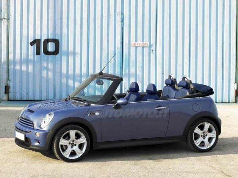 mini mini cabrio 1 6 16v cooper s cabrio 07 2004 09 2007 prezzo e scheda tecnica. Black Bedroom Furniture Sets. Home Design Ideas