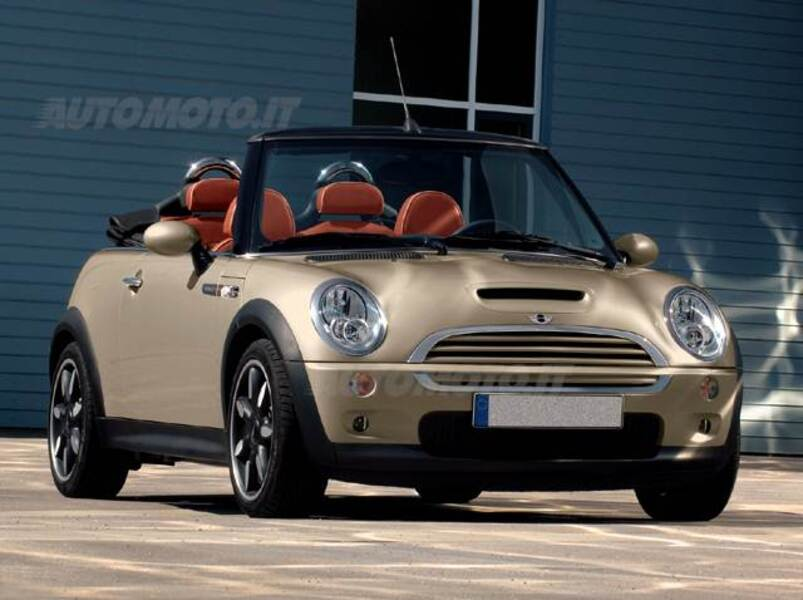 mini mini cabrio 1 6 16v cooper sidewalk cabrio 03 2007. Black Bedroom Furniture Sets. Home Design Ideas