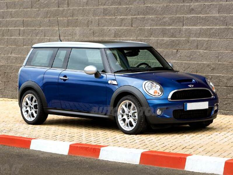 mini mini clubman 1 6 16v cooper s clubman 09 2007 03 2010 prezzo e scheda tecnica. Black Bedroom Furniture Sets. Home Design Ideas