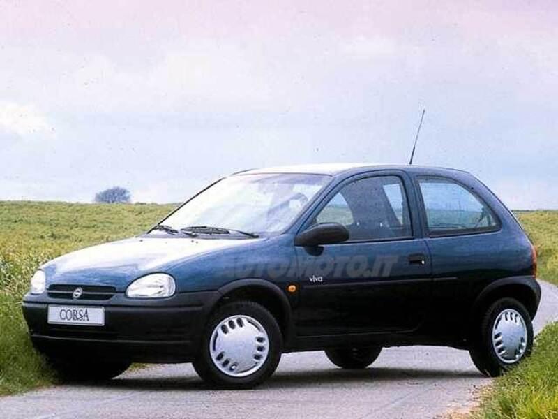 opel corsa 1 5 turbodiesel cat 3 porte viva 09 1998 09. Black Bedroom Furniture Sets. Home Design Ideas
