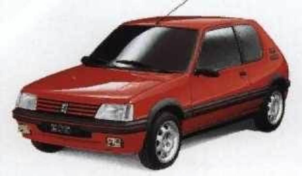 Peugeot 205 3 porte gti 09 1990 07 1991 prezzo e for Porte 205 gti