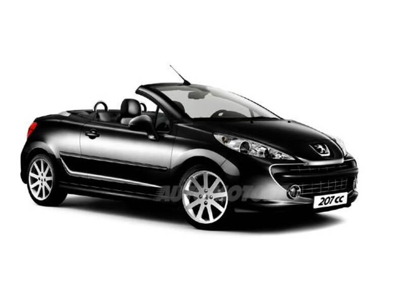 peugeot 207 cabrio vti 120cv cc roland garros 05 2008. Black Bedroom Furniture Sets. Home Design Ideas