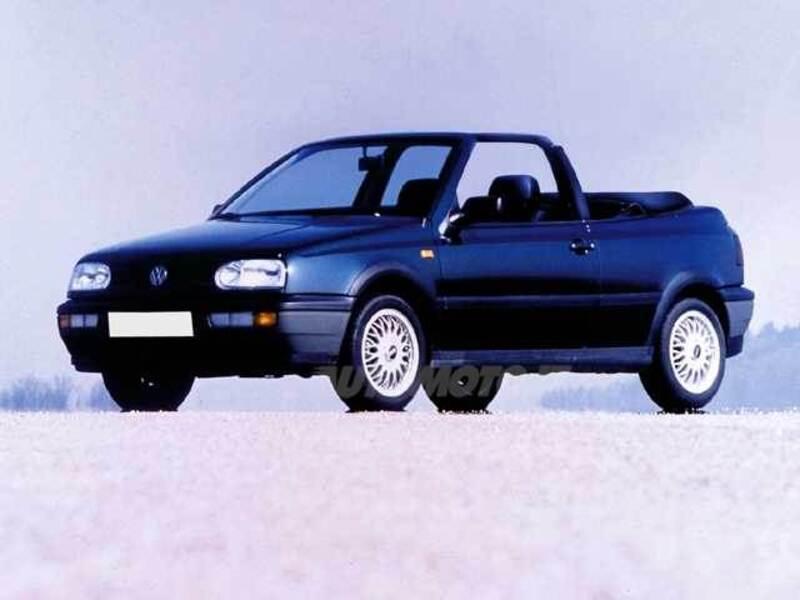 volkswagen golf cabrio 1 6 cat sport 05 1996 05 1998 prezzo e scheda tecnica. Black Bedroom Furniture Sets. Home Design Ideas