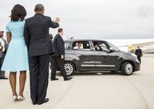 Papa Francesco in visita negli USA sulla Fiat 500L [VIDEO]