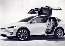 Tesla Model X, ecco la versione di serie