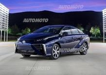 Idrogeno: l'Italia non è pronta per la Toyota Mirai