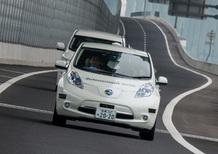 Nissan Leaf Piloted Drive 1.0: la guida autonoma si fa sempre più vicina