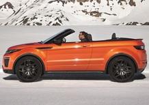 Range Rover Evoque Convertible, come lei non c'è nessuna