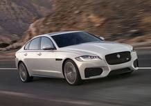 Nuova Jaguar XF: la video-prova