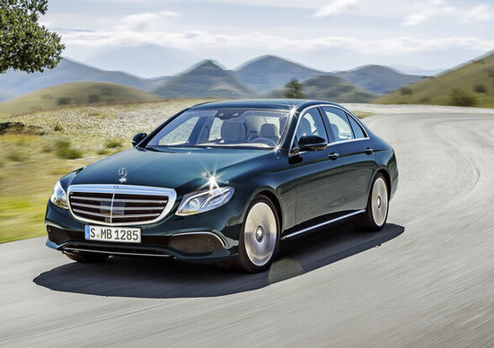 "Nuova Mercedes Classe E: Classe C ""king size"" e hi-tech"