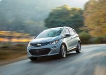 Chevrolet Bolt EV, la compatta elettrica è realtà