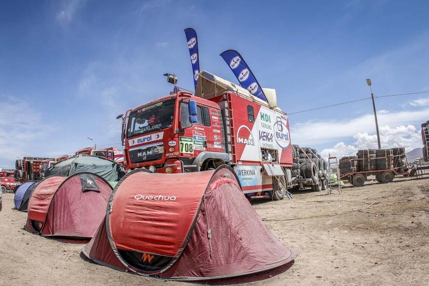 Dakar 2016: le foto più belle della sesta tappa