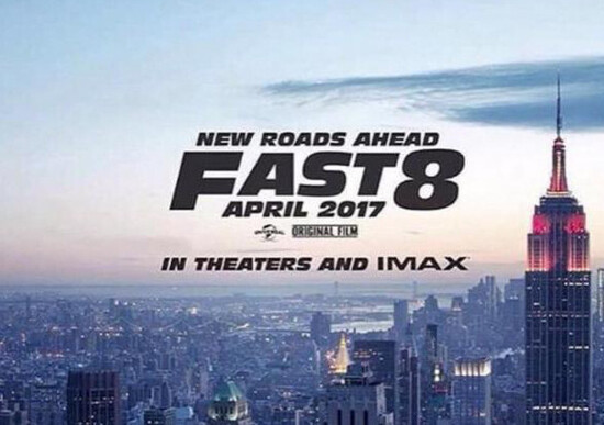 Fast and Furious 8 , Vin Diesel rivela titolo e poster del film