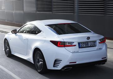 Lexus RC Coupé Hybrid