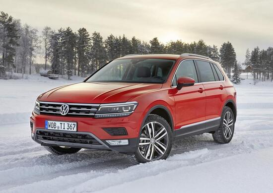 nuova volkswagen tiguan 4motion arriva la 4x4 news. Black Bedroom Furniture Sets. Home Design Ideas