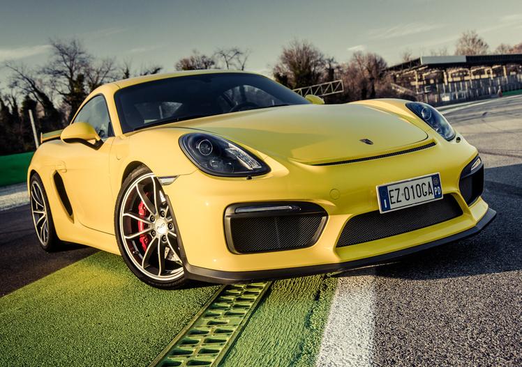 Le auto del Milione: Porsche Cayman GT4