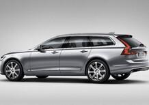 Volvo V90: le prime immagini