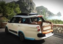 Fiat 500L Living Tiberio, il nuovo taxi di Capri lo firma Castagna
