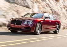 Bentley Flying Spur V8 S, sportivamente british