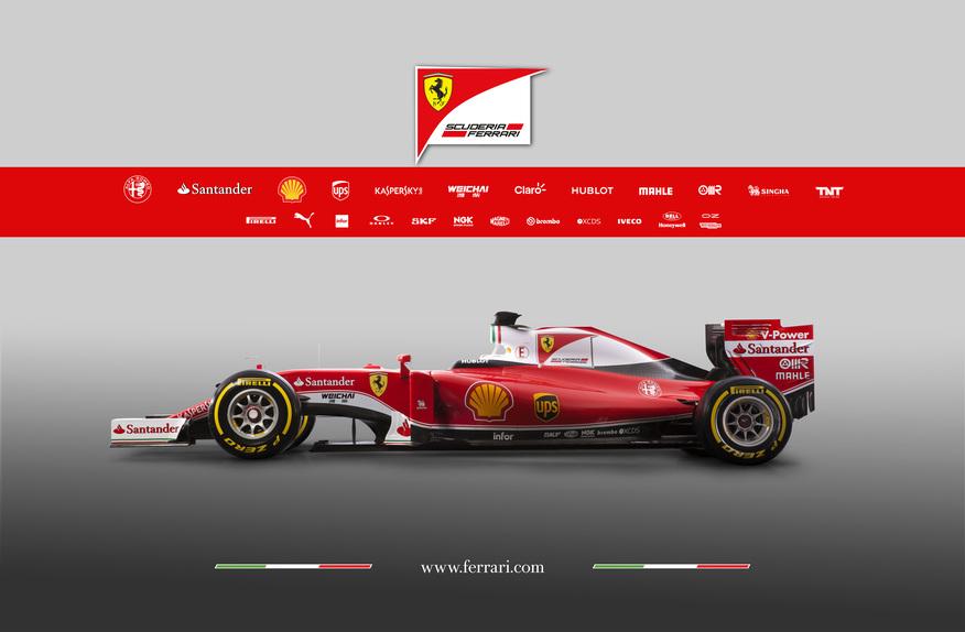 Formula 1, ecco la Ferrari SF16-H 2016! (3)
