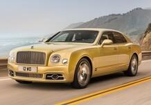 Bentley Mulsanne restyling, ancora più lusso. E arriva il passo lungo