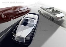Rolls-Royce Phantom Zenith: addio esclusivo a Coupé e Drophead