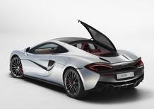 McLaren 570GT, più spazio e comfort