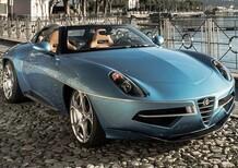 Alfa Romeo Disco Volante diventa Spyder