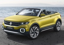 Volkswagen T-Cross Breeze Concept, anti-Juke en plein air