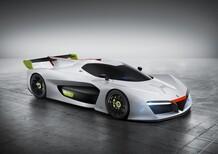 Pininfarina H2 Speed, l'idrogeno in pista al Salone di GInevra 2016