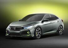 Honda Civic hatchback concept, un assaggio della prossima generazione