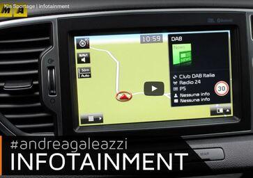 Kia Sportage   Focus infotainment