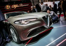 Il video della Alfa Romeo Giulia al Salone di Ginevra 2016
