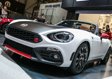 Il video dell'Abarth 124 Spider al Salone di Ginevra 2016
