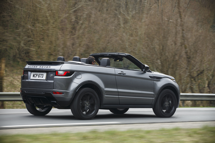 range rover evoque cabrio prove. Black Bedroom Furniture Sets. Home Design Ideas
