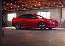 Subaru Impreza, ecco la quinta generazione